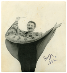 Click on this image of Viola Spolin to review a copy of Footnotes Newsletter